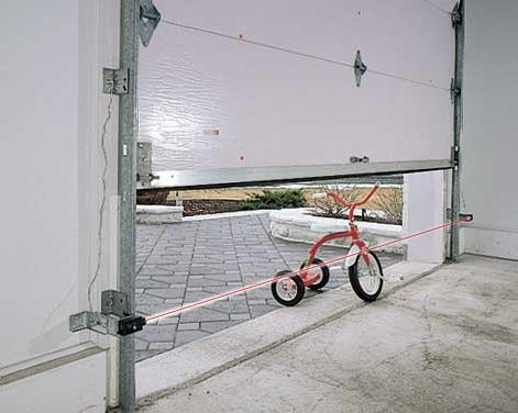 bicycle blocking sensors